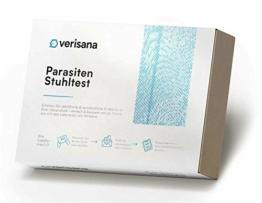 Parasiten Stuhltest – Test auf Wurmeier, Cryptosporidium spec, Entamoeba histolytica, Giardia lamblia, Blastocystis - 1